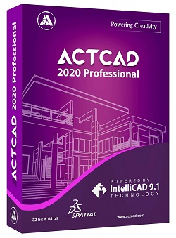 ActCAD 2020 professional software